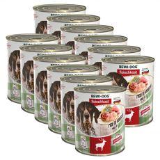 New BEWI DOG konzerva – Wild, 12 x 800 g