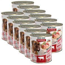 New BEWI DOG konzerva – Hovězí dršťky, 12 x 800 g