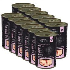 Konzerva Fitmin For Life PUPPY Chicken 12 x 400 g