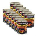 Konzerva ONTARIO pro psa, hovězí, brambory a olej - 12 x 800 g