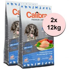 CALIBRA Dog Premium Line ADULT 2 x 12 kg