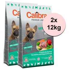 CALIBRA Dog Premium Line SENSITIVE 2 x 12 kg