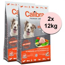 CALIBRA Dog Premium Line ENERGY 2 x 12 kg