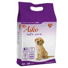 AIKO Soft Care podložky pro psy 14 ks – 60 x 58 cm