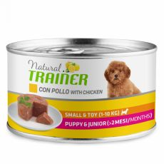 Trainer Natural Puppy & Junior Small & Toy kuře 150 g