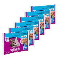 Whiskas Rybí výběr v želé 6 x (4 x 85 g)