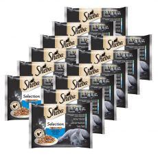 Sheba Selection Rybí výběr 12 x (4 x 85 g)