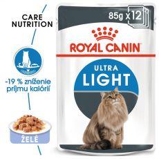 Royal Canin Ultra Light in Jelly 12 x 85g - želé v kapsičce
