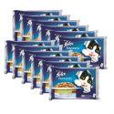 Kapsičky pro kočky FELIX - maso se zeleninou v želé, 12 x 400 g