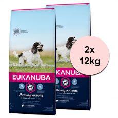 Eukanuba Mature Medium Breed 2 x 12 kg