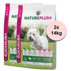 Eukanuba Nature Plus+ Adult Small Rich in freshly frozen Lamb 2 x 14 kg