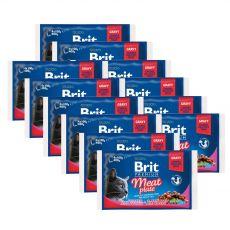 Kapsičky BRIT Premium Cat Meat Plate 12 x (4 x 100 g)
