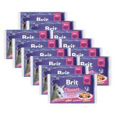 Kapsičky BRIT Premium Cat Dinner Plate in Jelly 12 x (4 x 85 g)