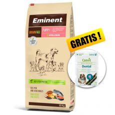 EMINENT Grain Free Puppy 12 kg + DÁREK