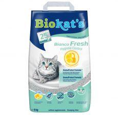 Biokat's Bianco Fresh Hygiene Control podestýlka 5 kg