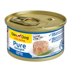 GimDog Pure Delight tuňák 85 g