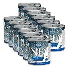 Farmina N&D dog Herring & Shrimps konzerva 12 x 285 g
