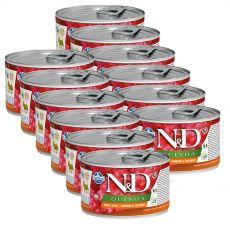 Farmina N&D dog Quinoa Herring & Coconut 12 x 140 g