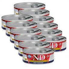 Farmina N&D cat Quinoa Weight Management konzerva 12 x 80 g