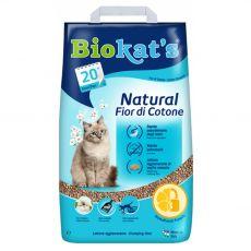 Biokat's Natural Fior di Cotone podestýlka 10 kg