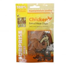 HUHU Bamboo kuřecí chipsy 75 g