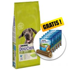 PURINA DOG CHOW ADULT LARGE BREED Turkey 14kg + DÁREK