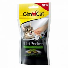 GimCat Nutri Pockets Catnip & Multi-vitamín 60 g
