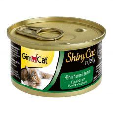 GimCat ShinyCat kuře + jehně 70 g