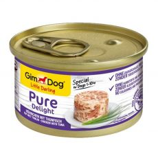 GimDog Pure Delight kuře + tuňák 85 g