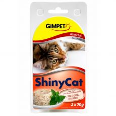 GimCat ShinyCat kuře 2 x 70 g