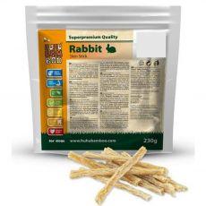 HUHU Bamboo proužky králičí kůže 230 g