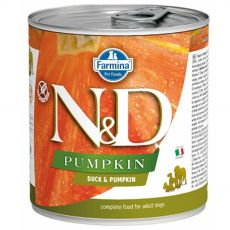 Farmina N&D dog Duck & Pumpkin konzerva 285 g