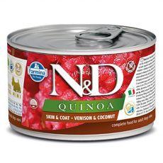 Farmina N&D dog QUINOA venison & coconut 140 g