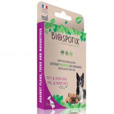 BIOGANCE Biospotix Dog spot-on S-M s repelentním účinkem 5 x 1 ml (do 20 kg)
