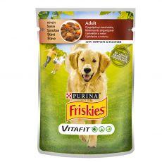 FRISKIES Adult VitaFit kapsička s jehněčím a mrkví ve šťávě 100 g