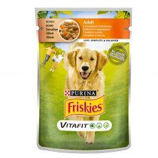 FRISKIES Adult VitaFit kapsička s kuřetem a mrkví ve šťávě 100 g