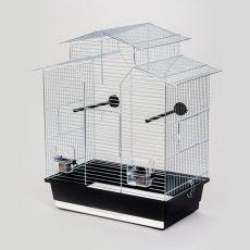 Klec pro papoušky IZA II chrom - 51 x 30 x 60,5 cm