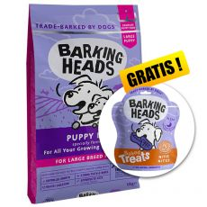 BARKING HEADS Puppy Days PUPPY LARGE BREED 12 kg + DÁREK