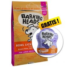 BARKING HEADS Bowl Lickin' Chicken ADULT LARGE BREED 12 kg + DÁREK
