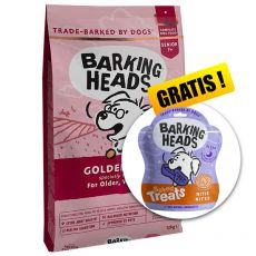 BARKING HEADS Golden Years SENIOR 12 kg  + DÁREK