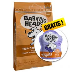 Barking Heads Top Dog Turkey Grain Free 12 kg  + DÁREK