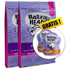 BARKING HEADS Puppy Days PUPPY LARGE BREED 2 x 12 kg + DÁREK