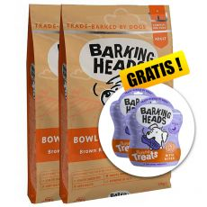 BARKING HEADS Bowl Lickin' Chicken ADULT 2 x 12 kg + DÁREK