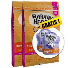 BARKING HEADS Bowl Lickin' Chicken ADULT LARGE BREED 2 x 12 kg + DÁREK