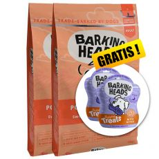 BARKING HEADS Pooched Salmon ADULT 2 x 12 kg + DÁREK