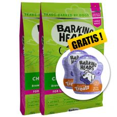 BARKING HEADS Chop Lickin' Lamb ADULT LARGE BREED 2 x 12 kg + DÁREK