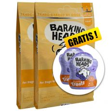 BARKING HEADS Fat Dog Slim LIGHT 2 x 12 kg + DÁREK