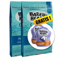 Barking Heads Fish-N-Delish Grain Free 2 x 12 kg + DÁREK