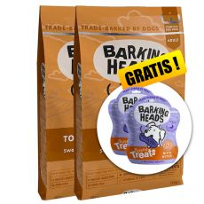 Barking Heads Top Dog Turkey Grain Free 2 x 12 kg  + DÁREK