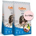 Calibra Dog Premium Line Adult 2 x 12 kg NEW